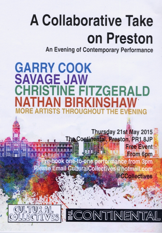cultural collaboration, preston, garry cook