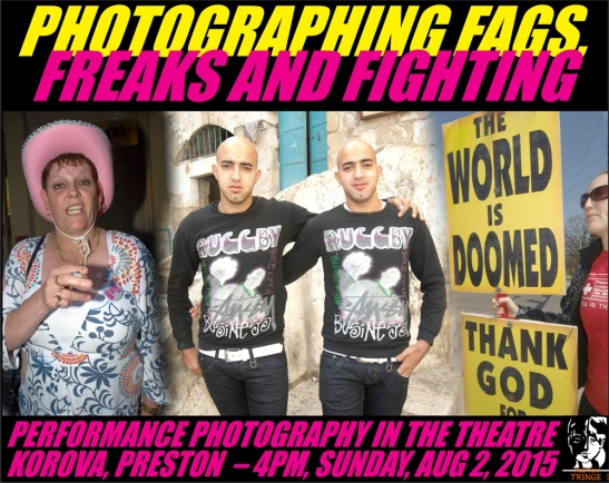 garry cook, photographing fags freaks and fightinghting