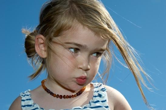 children, blue sky