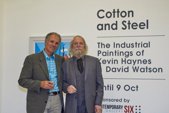 kevin haynes, dave watson, cotton and steel, salford museum and art gallery