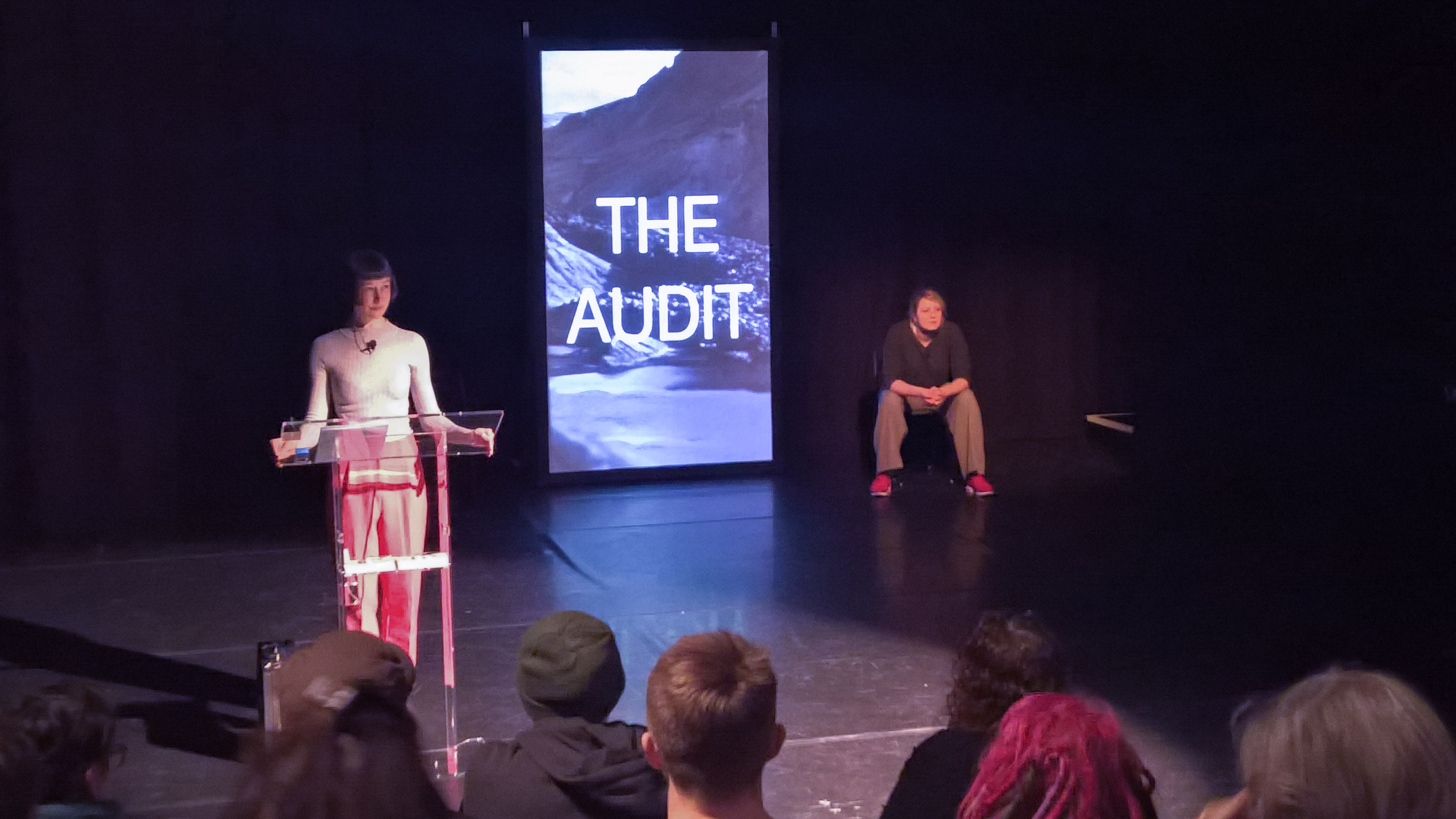 REVIEW: The Audit by Proto-type Theatre (at The Lowry, Salford)